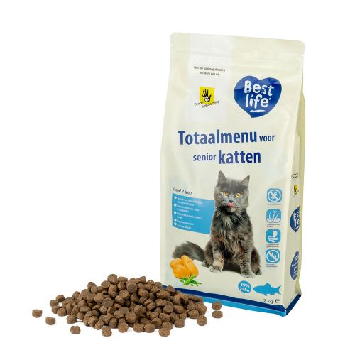 Best Life Totaalmenu senior katten